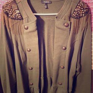 Military-Style Jacket